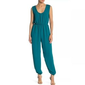 ABOUND NEW Blue Teal Scoop Neck XS Jumpsuit